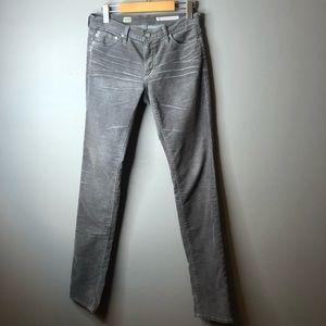 Adriano Goldschmied corduroy brown pants 28 AG
